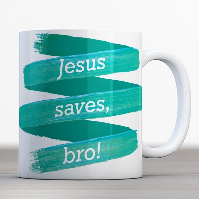 Quotes en Uitspraken bijbelmok Jesus saves bro!