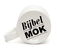 Over Bijbelmok - Mok met logo op bodem