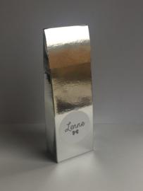 Hoog doosje zilver spiegel