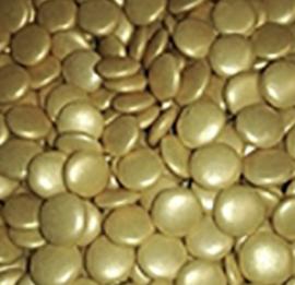Smarties goud parelmoer (1kg)