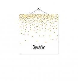Kaartje Amelie goud