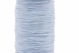 Licht blauw rekkoord/verkocht per meter