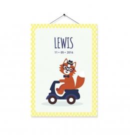 Kaartje Lewis vos
