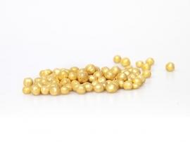 Choco choups / parels goud  5mm (500gr)