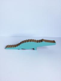Krokodil klein hout