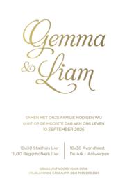 Gemma & Liam