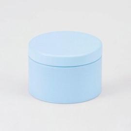 Blik blauw