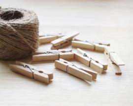 Klemmetjes hout