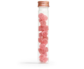 Buisje met rosé dop