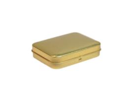 Blik goud rechthoek