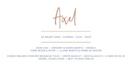Kaartje Axel