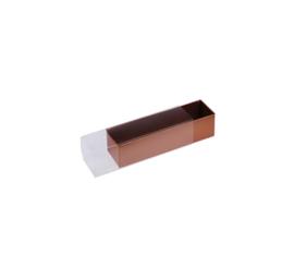 Balkdoosje koper rechthoekig