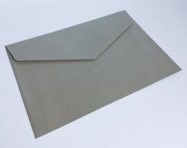 Omslagen A6 formaat - parelmoer zilver (per 10stuks)