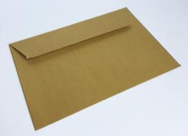 Omslagen A6 formaat - parelmoer goud (per 10stuks)