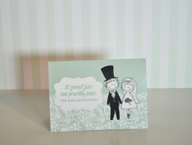Al zoveel jaar een prachtig paar! (huwelijksverjaardag)