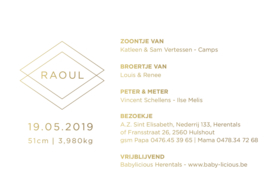 Kaartje Raoul