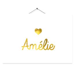 Kaartje Amélie hartje