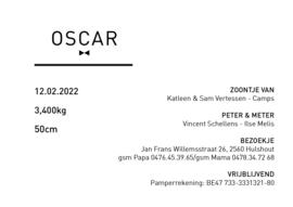 Kaartje Oscar