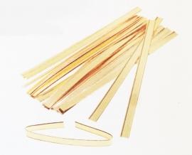 Clipband goud ijzerdraad