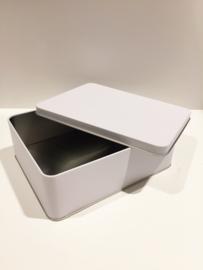 Blik doos rechthoek