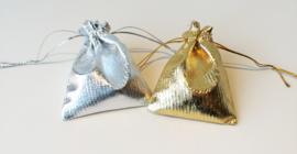 Zakjes zilver of goud (klein)