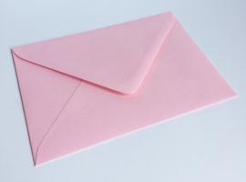 Omslagen A6 formaat - roze (per 10stuks)