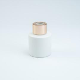 Huisparfum wit met rosé dop
