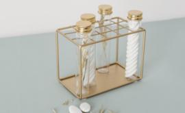 Buisje met gouden dop