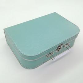 Koffertje munt groot