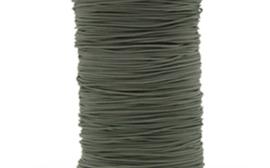 Donker groen rekkoord/verkocht per meter