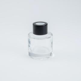 Huisparfum met zwarte dop