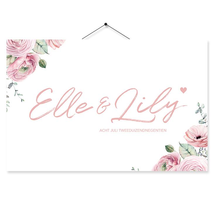 Kaartje Elle & Lily