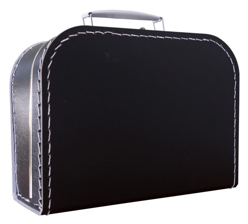 Koffertje zwart klein