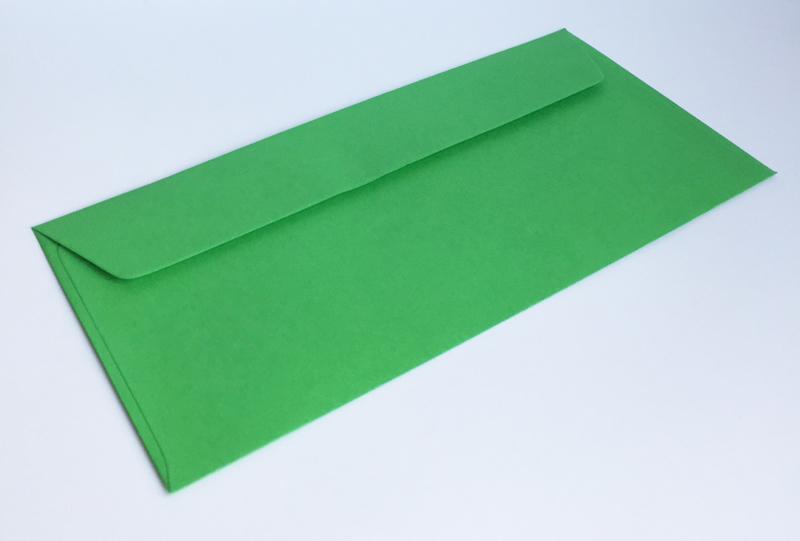 Omslagen US formaat - groen (per 10stuks)