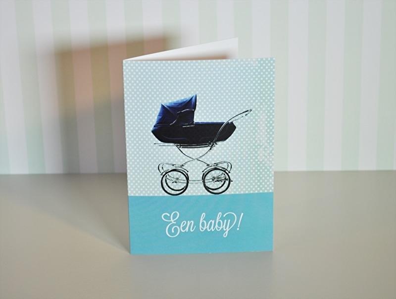 Een baby kinderwagen
