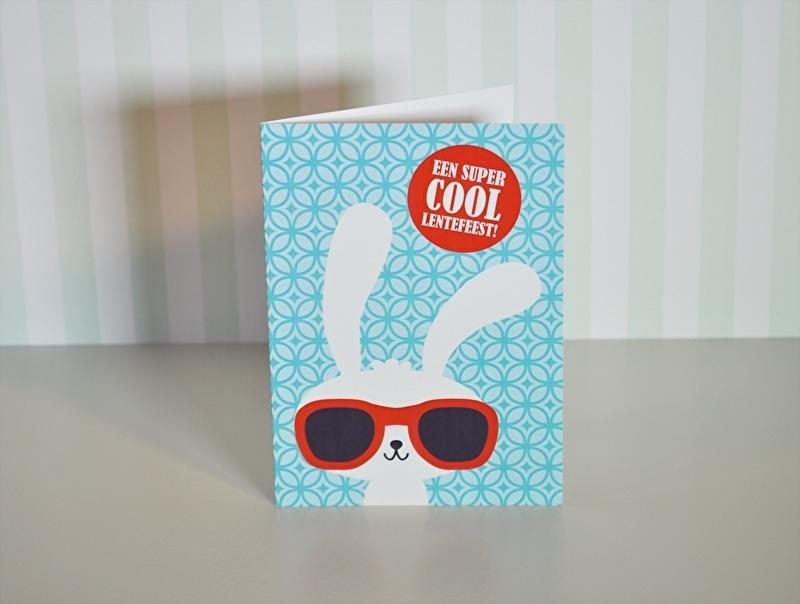 Lentefeest (konijn bril)