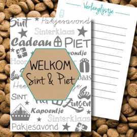 Welkom Sint en Piet