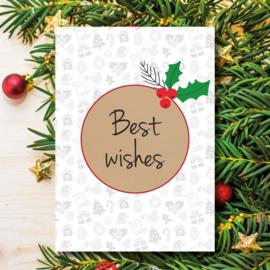 Kerst - Best wishes
