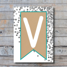 Letter - V