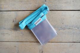 Fotoslinger - Turquoise (kort)