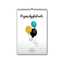 Verjaardagskalender 30% korting
