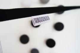 Fotoslinger - Zwart (kort)