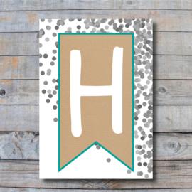 Letter - H