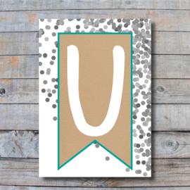 Letter - U