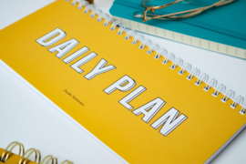 Notebook Daily plan