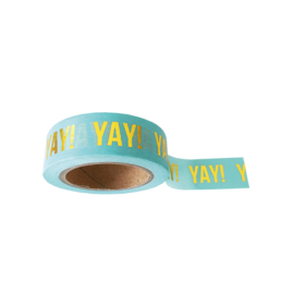 Washi Tape - Mint - Yay