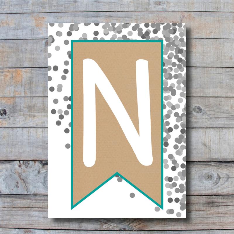 Letter - N