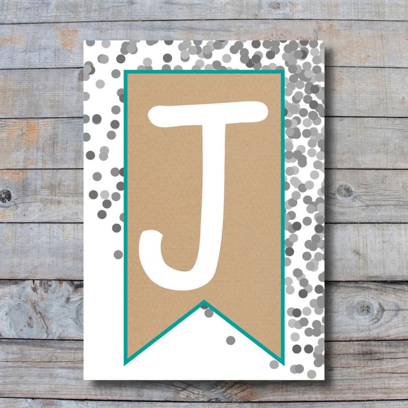Letter - J