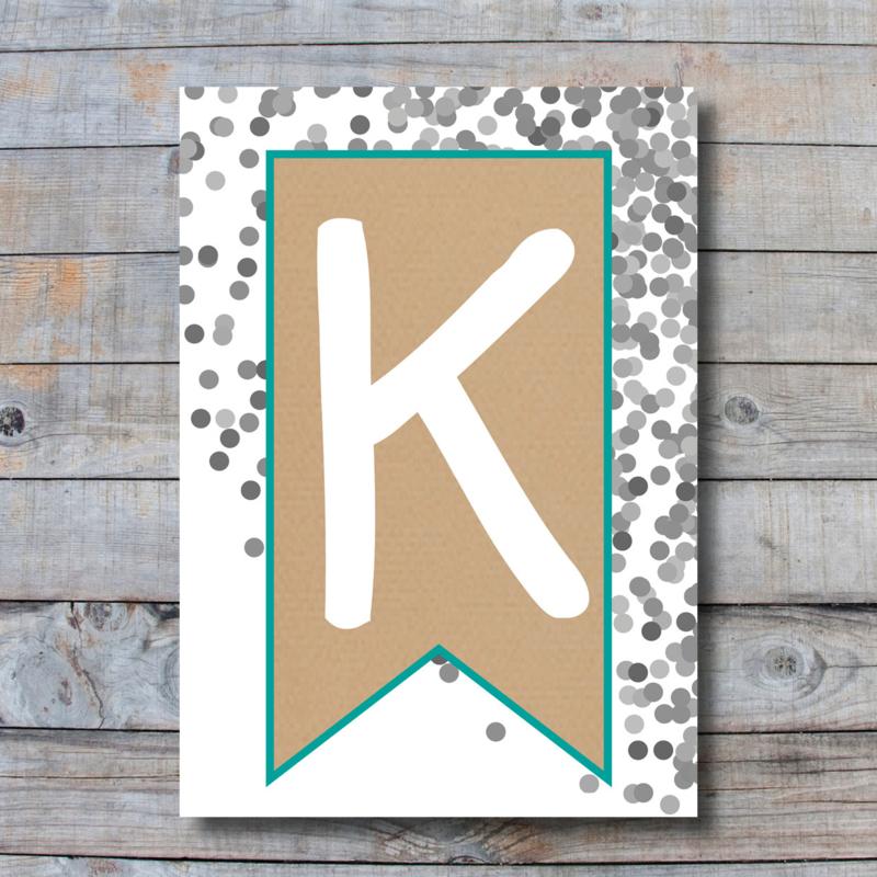 Letter - K