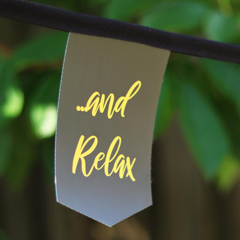 Tuinslinger - Relax (zwart)